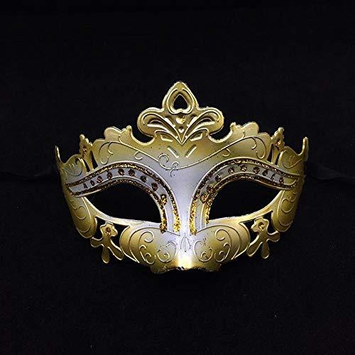 Tag Auf Lieferung Nächsten Am Kostüm - QTJKH Horror Maske Venezianische Maskerade Maske Masquerade Ball Halloween Maske Urlaub Lieferungen Festliche Party Thema Requisiten @ C