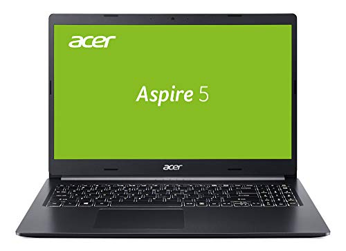 Acer Aspire 5 (A515-54G-571F) 39,6 cm (15,6 Zoll Full-HD IPS matt) Multimedia Notebook (Intel Core i5-8265U, 8GB RAM, 512GB PCIe SSD, NVIDIA GeForce MX250, Win 10) schwarz aluminium