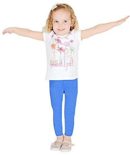 Womens Wardrobe Kids Girls Children Full Length Cotton Leggings All Colours and Sizes