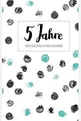 Tagebuch - 5 Jahre: Ringbuch, 192 Seiten, cremeweiß liniert Taschenbuch
