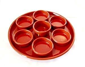 Spanish Tapas Dipping Dish Set