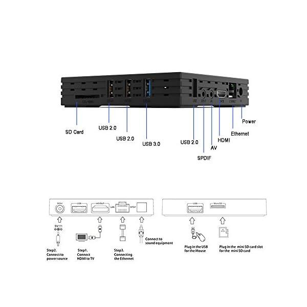 2018-Dernire-Version-UKSoku-Android-71-TV-Box-avec-Mini-Clavier-Rtroclair-Sans-Fil4Go-32Go-Botier-TVRK3328-Quad-Core-64Bits-CPU-Set-Top-Box-Support-4K-HD-24G5G-WiFi-Ethernet-Bluetooth-40