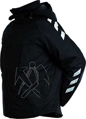 JOB-Tex Winter-Jacke BREMEN m. Dachdecker-Emblem Winterjacke Outdoor Jacke 2007 (M) (2007-jacke)