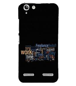 Fuson Designer Back Case Cover for Lenovo Vibe K5 Plus :: Lenovo Vibe K5 Plus A6020a46 :: Lenovo Vibe K5 Plus Lemon 3 (freelance work time day job)