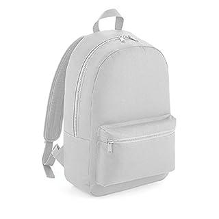 Bedruckbarer Essential Fashion Rucksack mit voll verstellbaren Schulterriemen (Light Grey)