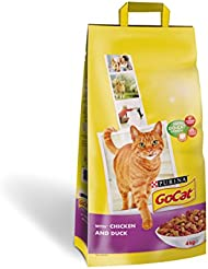 Go-Cat Adult Cat Food Chicken and Duck, 4kg