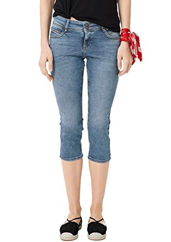 s.Oliver Damen 04.899.72.5087 Hose, Blau (Middle Blue Denim Stretch 54z6), 40