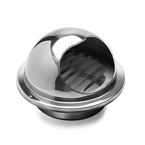 Hon&guan copertura di ventilazione con griglia in acciaio inox (ø120mm)