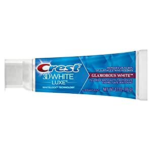 Crest - 3D Blanc Blanc Glamour Dentifrice 116 Gramme Tube