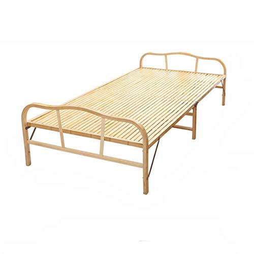 GuanBed Cama Tatami Habitación económica de Alquiler Moderna Cama Plegable Cama Individual...