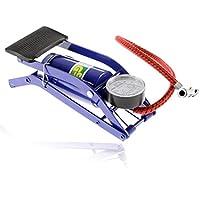 Fansport Auto Compresor De Aire Multifuncional PortáTil NeumáTico Inflador De NeumáTicos Inflador De La Bomba del Pedal