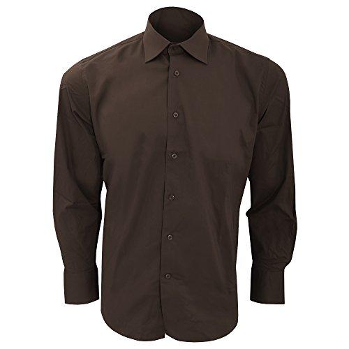 SOLS Herren Brighton Hemd / Arbeitshemd, Langarm Himmelblau