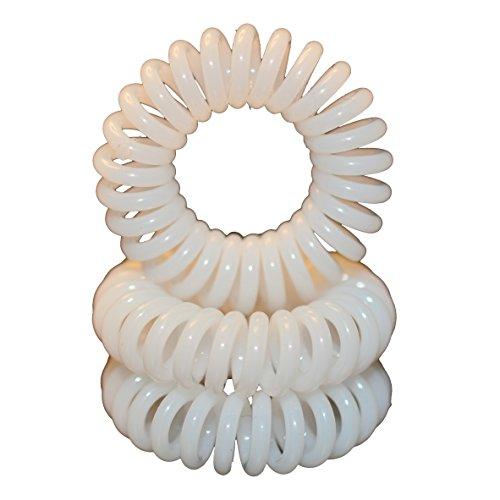 miyar-juego-de-3-alta-calidad-coletero-en-blanco-elastico-cable-telefonico-mini-espiral-de-plastico-