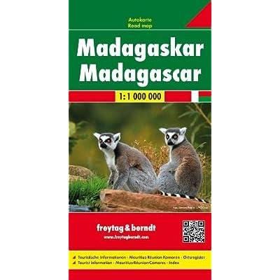 Madagascar 1:100.000: Wegenkaart 1:800 000