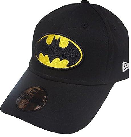 New Era Kids Essential 9Forty Batman Cap, Black, 6-12 Years