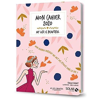 Mon cahier 2020 My life is beautiful