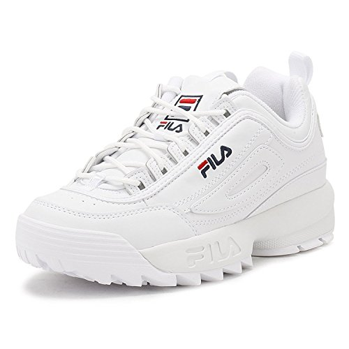 Disruptor II 2 Mujer Low Sneakers Zapatillas Casual Running Shoes Fitness Sports Sneaker Blanco (37)