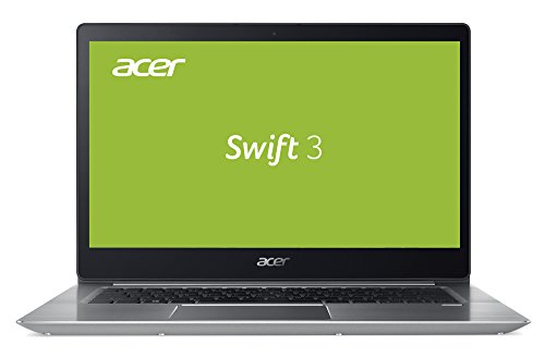 14 Acer E Laptop (Acer Swift 3 (SF314-52-56WS) 35,6 cm (14 Zoll Full-HD IPS) Ultrabook (Intel Core i5-8250U, 8 GB RAM, 256 GB PCIeSSD, Intel HD, HDMI, USB 3.1 Type-C, Win 10) silber (Unibody Design))