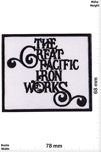 Patch - The Great Pacific Iron Works - Patagonia Ventura - Cool Brands - Cool Brands - The Great Pacific Iron Works - Aufnäher - zum aufbügeln - Iron On