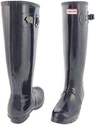 Hunter Original Tall Gloss, Botas de Agua para Mujer