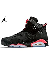 Nike Air Jordan 6 Retro, Chaussures de Sport Homme, Blanc, For Men