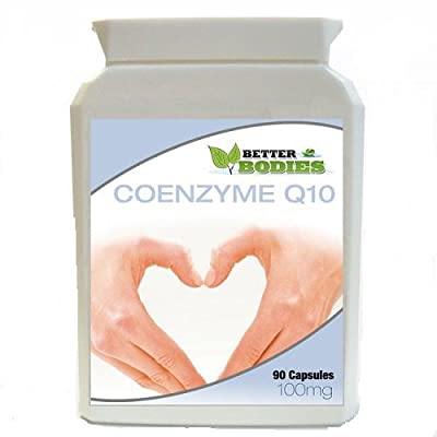 Better Bodies 100 mg Co-Enzyme Q10 - Pack of 90 Capsules