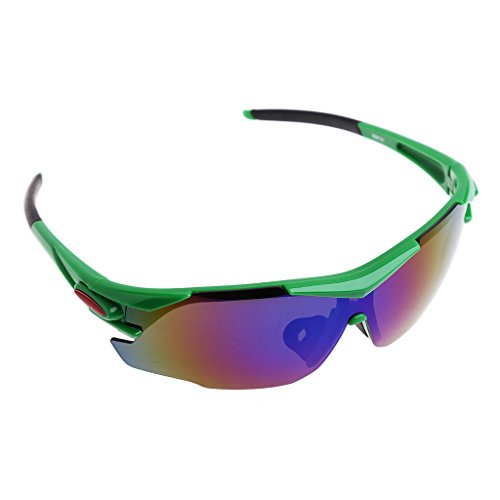 Price comparison product image Lergo Cycling Sports Glasses Eyewear Sunglasses Windproof Bike Bicycle Goggles - UV400 Protection
