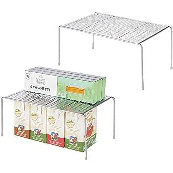 Idesign Küchenregal Kleines Gewürzregal Aus Kunststoff Und