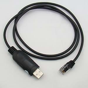 USB Câble de programmation Pour Yaesu Mobile Transceiver Radio FT-1500M 1802M 1807M 1900R 2800M 2900R