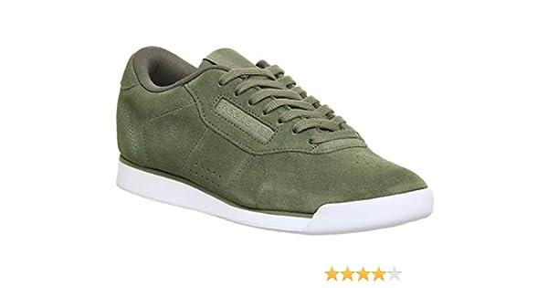 3d8ff78b334392 Reebok Women s Princess EB Sneakers Green Size  3 UK  Amazon.co.uk  Shoes    Bags
