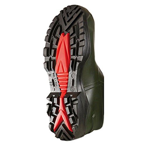 Dunlop C762933 S5 PUROFORT+ Unisex-Erwachsene Langschaft Gummistiefel Dunkelgrün