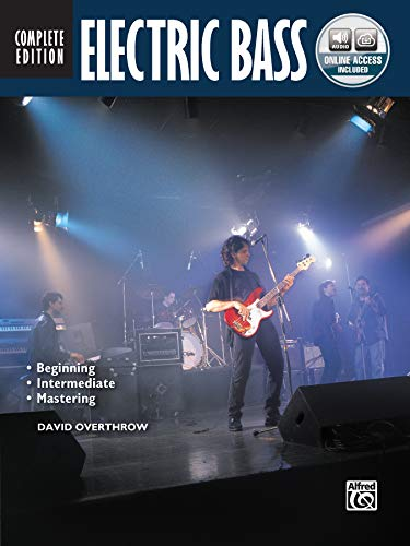 Electric Bass Method Complete (Book/CD/DVD) (Complete Method) (Bass-übungs-amp)