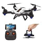 HAOXIN F22G FPV RC Drone Faltbarer Quadcopter mit Weitwinkel Einstellbare 720 P HD Kamera, Long Range Drone Outdoor Einfach zu fliegen Hubschrauber Route Planung, Lange Lebensdauer Modulare Batterie