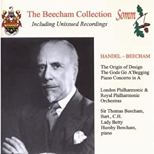 Conducts Handel-Beecham