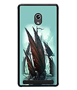 PrintVisa Designer Back Case Cover for Asus Zenfone 5 (Beautiful ice mountains background image)