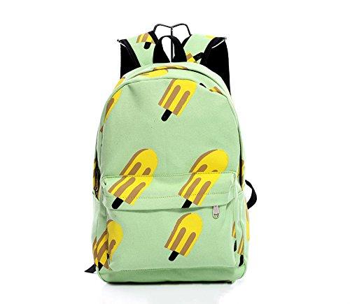 Kotiger portabilità sport all' aperto zaino a spalla per escursionismo e campeggio zaino, Banana Ice Cream
