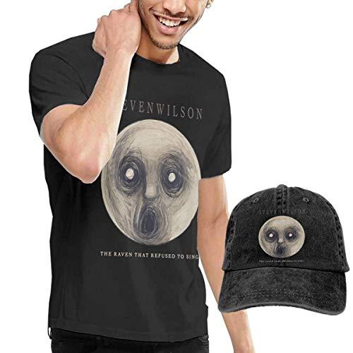 CINDYO Hemden Steven Wilson The Raven That Refused to Sing T-Shirt Mens Tee T-Shirts Vintage Jeans Baseball Cap Hat (Xxl Cap Ravens)