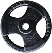 Skyland Rubber Gym Weight Plate, EM-9264 - 25 Kgs