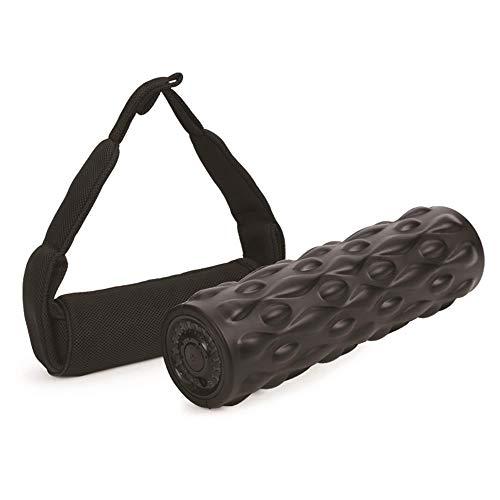 LEIKAS Tragbares Rückenmassagegerät Drahtloses Vibrations-Yoga-Roller-Stick Nackenrücken-Fußmassage Körper-Abnehm-Ausrüstung Sport Fitness Cellulite-Foam-Roller-Massage - Roller Rückenmassagegerät