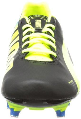 Puma evoSPEED 4.2 SG 102869 Herren Fußballschuhe Schwarz (black-fluo yellow-brilliant blue 01)