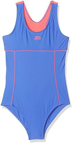 Slazenger Badeanzug für Mädchen Schwimmanzug 7 bis 15 Jahre in 10 verschiedenen Farben