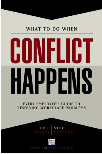Book cover image for What To Do When Conflict Happens
