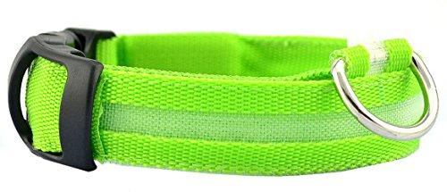 Ruixi EU farbenfrohes Halsband mit LED-Licht für mehr Sicherheit in der Nacht, Größe einstellbar (Extra Small Dog Bow Ties)