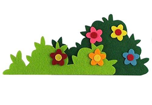 [Underbrush] Kinderzimmer Wanddekor Vliesmaterial, 4PCS