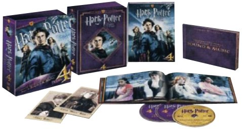Harry Potter e il calice di fuoco (ultimate collector's edition) [Blu-ray] [IT Import] (Harry Potter Goblet Film)