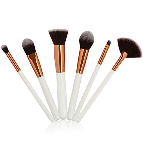 pitashe Make up Pinsel Set 6pcs Professionelle Makeup Pinsel Set Kosmetikpinsel Lidschatten...