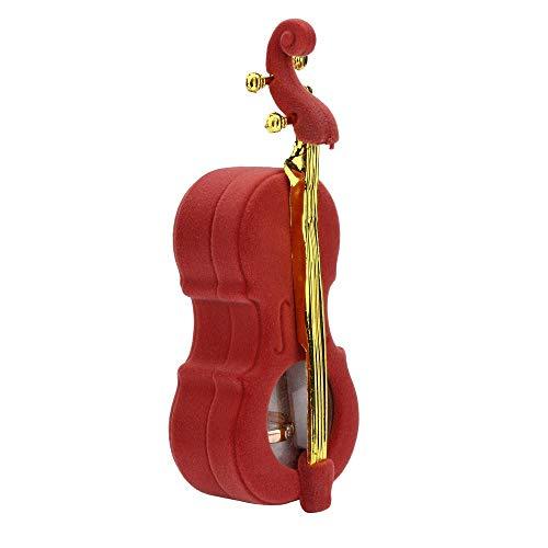 TDFGCR Neu Kreative Gitarren Schmuckkästchen Form Ohrringe Armband Ring Halskette Lagerung...