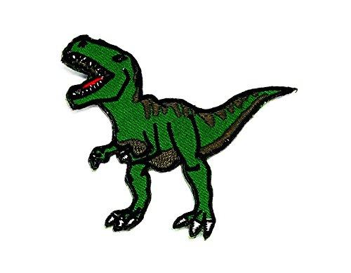 rier Tier Cartoon Kids Kinder Cute Animal Patch für Heimwerker-Applikation Eisen auf Patch T Shirt Patch Sew Iron on gesticktes Badge Schild Kostüm (Dinosaurier-kid Kostüme)