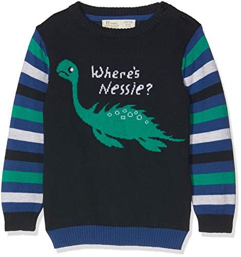 ZIPPY Sudadera Sweat-Shirt, Bleu (Black Iris 19-3921 TC), 80 Bébé garçon