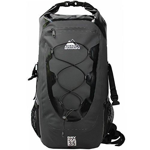 Cox Swain 35L wasserdichter Outdoor Rucksack Packsack für Fahrrad, Motorrad, Wassersport etc.